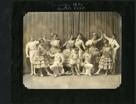 "Dancers in costume performing ""Ballet Versailles 1830"""