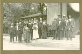 Wedding party at Kildonan Park