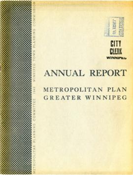 Annual report / Metropolitan Plan - Greater Winnipeg [for the year 1947]