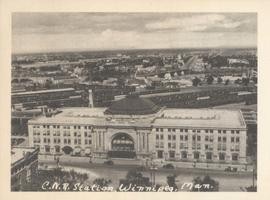 C.N.R. Station, Winnipeg, Man.