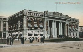 C.P.R. Depot, Winnipeg, Man.