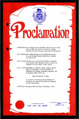 Proclamation - Big Brother Week