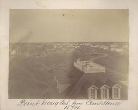 Point Douglas from Courthouse, 1874