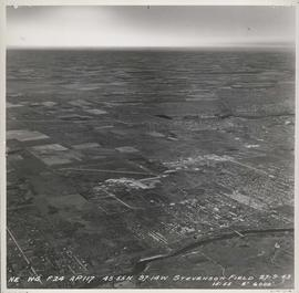 Aerial view of Stevenson Field (Winnipeg Airport)