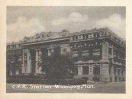 C.P.R. Station, Winnipeg, Man.