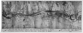 Aerial photograph Red River north from southern boundaries of North Kildonan and West St. Paul, n...