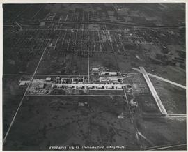 Aerial view of Stevenson Field looking South (Winnipeg Airport)