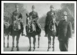 Mounted policemen