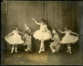 Young dancers in costume