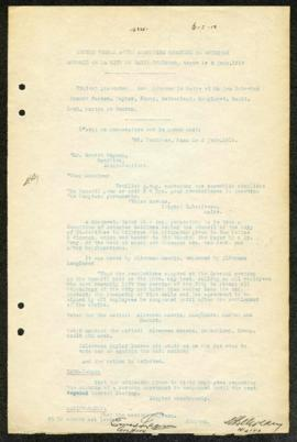 St. Boniface Council Minutes - June 2, 1919
