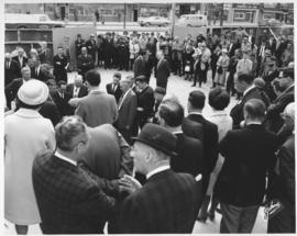 No. 8 - Laying of the cornerstone at new City Hall, May 15, 1964