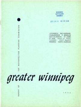 Annual report for the year 1956 / Metropolitan Planning Commission of Greater Winnipeg