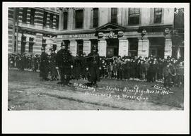 Police during 1906 Winnipeg Street Railway Strike