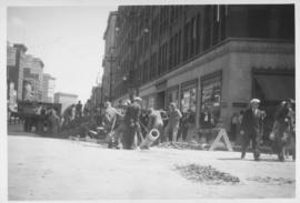 No. 2 Renewal of 8 inch cast iron water pipe in Portage Avenue from Kennedy Street to Main Street with 10 inch transit pipe, laid June, 1938