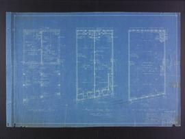 Floor plans for business premises of Mr. F.J. Sharpe, Portage Avenue