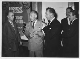 "Movie premiere of ""Welcome Stranger"" at Capitol Theatre with actor William Demarest"