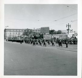 Winnipeg's 75th Anniversary parade - marching band