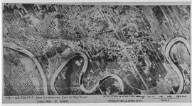 Aerial photograph south of Winnipeg, east of Red River, 1943