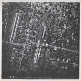 Logan Avenue and Salter Street [Aerial view]