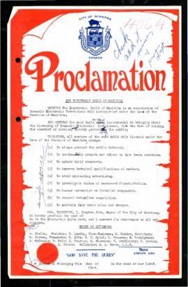Proclamation - The Electronic Guild Week