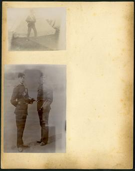 Arthur and Fred Landen photograph album – page 27