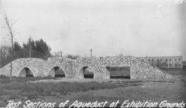 Test Sections of Aqueduct at Exhibition Grounds