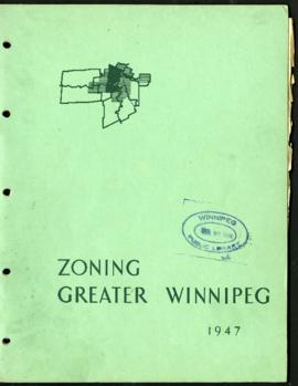 Preliminary Report on Zoning - Metropolitan Plan for Greater Winnipeg