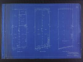 Floor plans for business premises for Mr. Nation, Portage Avenue