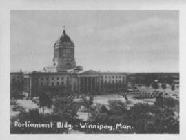 Parliament Bldg., Winnipeg, Man.
