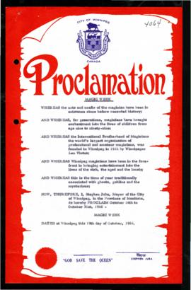 Proclamation - Magic Week