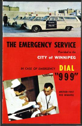 The emergency service provided in the City of Winnipeg