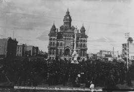 Ceremonies at Unveiling Volunteer Monument, Winnipeg, Sept. 28th, 1886