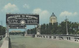 Entrance to Winnipeg and Parliament Buildings