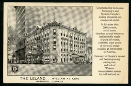 The Leland Hotel, William at King