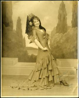 Signed photo of a dancer named Mary