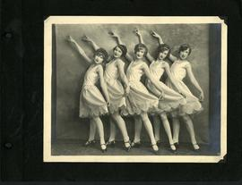 Dancers in costume