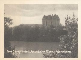 Fort Garry Hotel, Assiniboine River - Winnipeg