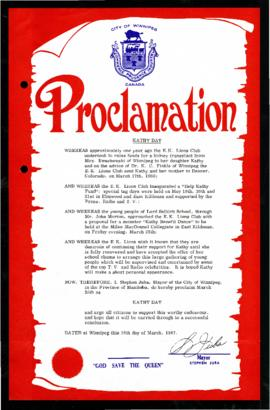 Proclamation - Kathy Day