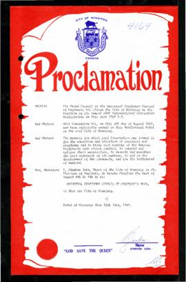 Proclamation - Universal Craftsmen Council of Engineer's Week