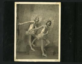 Dancers in costume – last recital