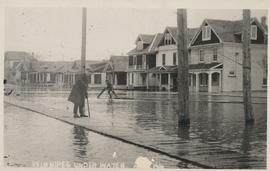 Winnipeg under water - April 1916