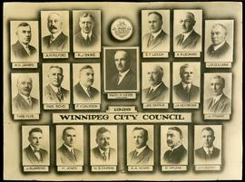 1925 Winnipeg City Council Collage
