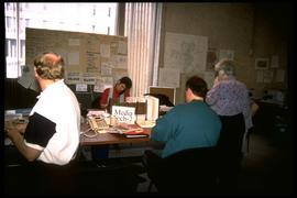 1997 flood - City Hall - 6th floor call centre
