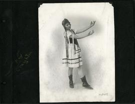 Kay Creighton in costume