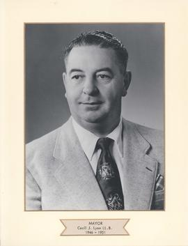 Mayor Cecil J. Lyon, LL.B., City of West Kildonan