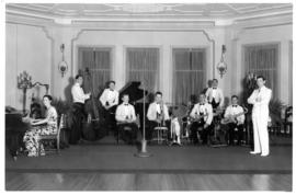 Frank Wrights Orchestra at the Banff Springs Hotel