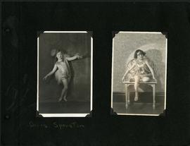 Young dancers, including Doris Sproston