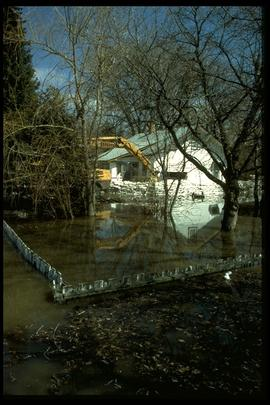 1997 flood - Holly Avenue at South Drive