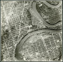 Aerial view of Riverview, St. Vital, and Wildwood