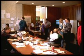 1997 flood - City Hall - Emergency Registration Centre
